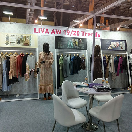 Liva at National Garment Fair, 2018